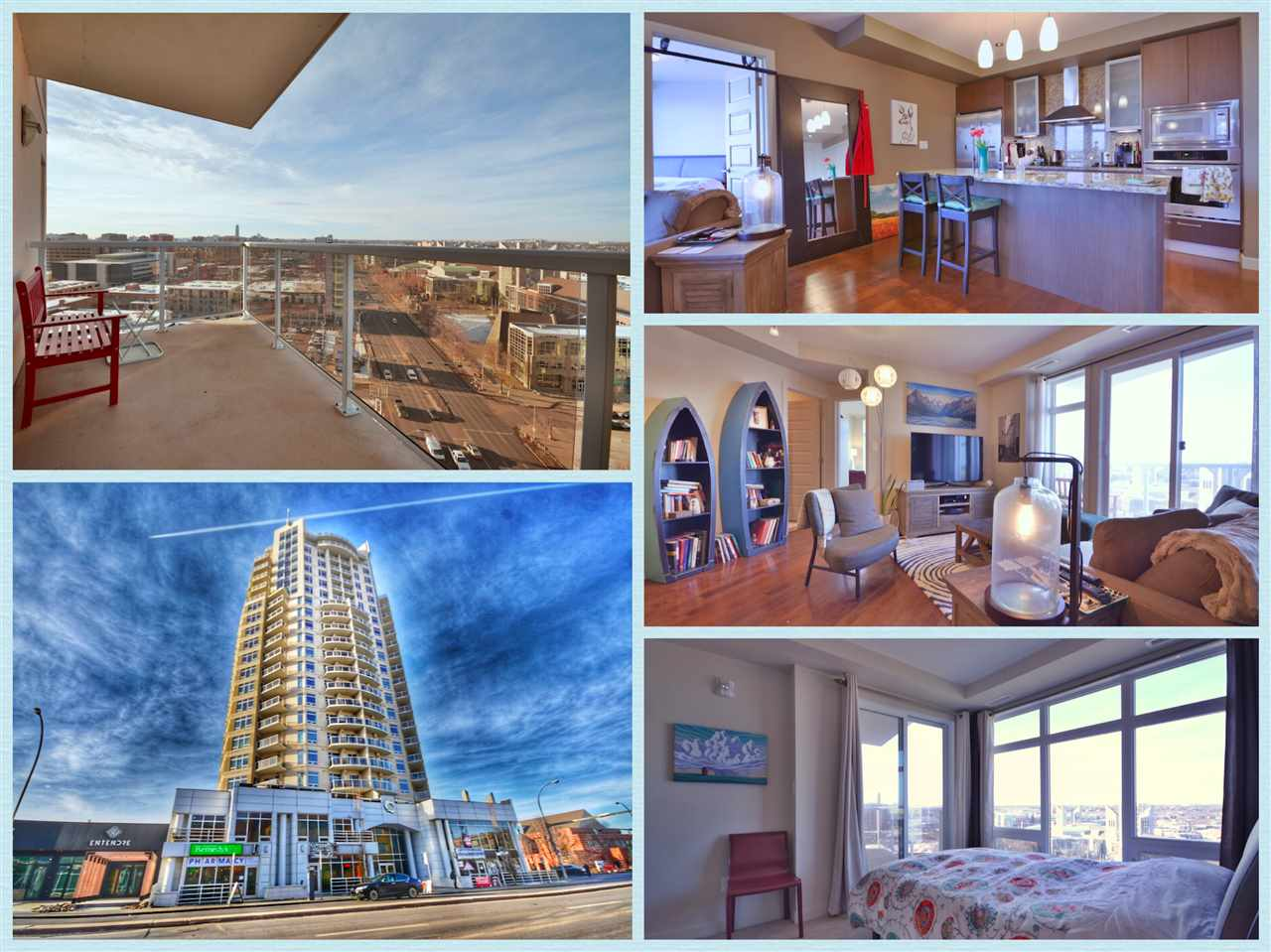 Main Photo: 1407 10388 105 Street in Edmonton: Zone 12 Condo for sale : MLS® # E4090468