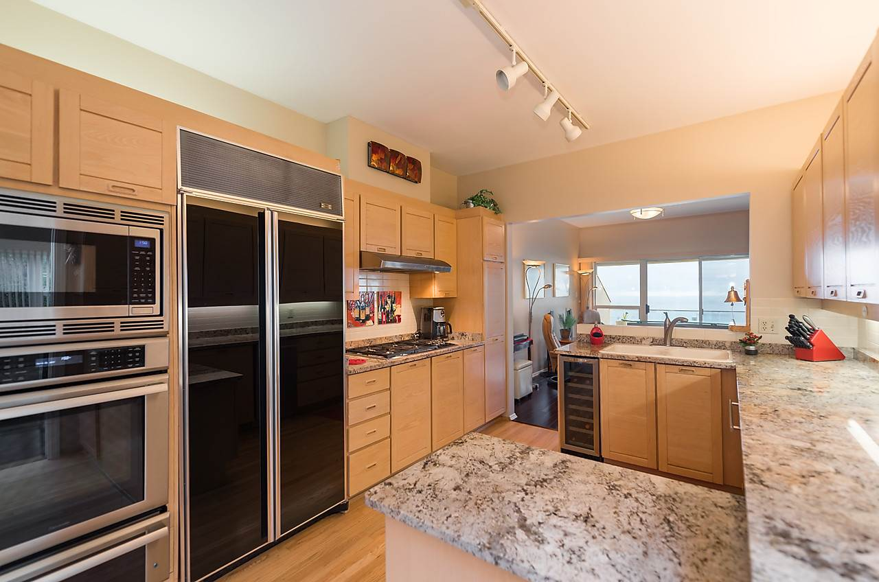 The kitchen has a Dumbwaiter used for bringing groceries up from your garage and wine from the wine cellar.