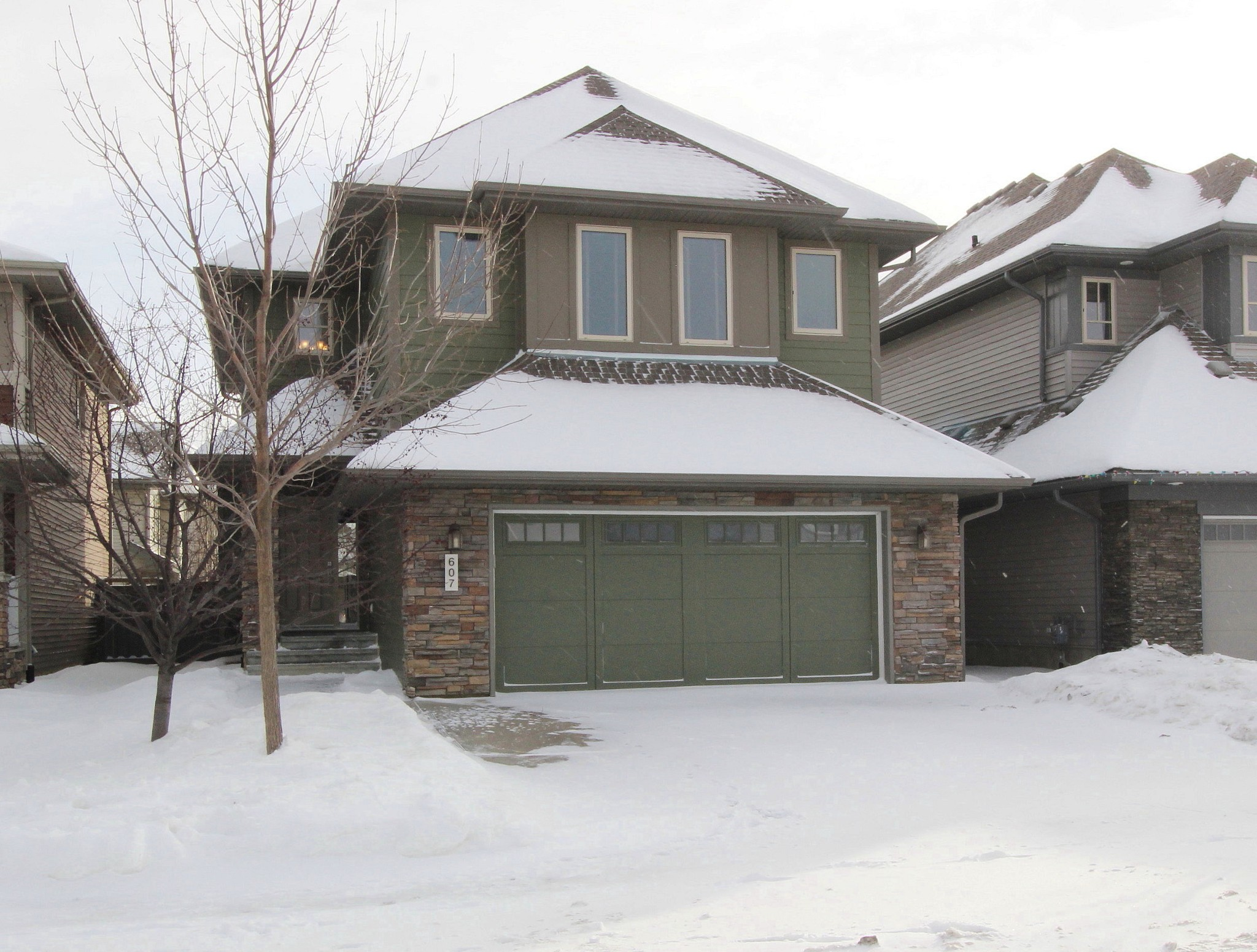 Main Photo: 607 Adams Way SW in Edmonton: House for sale