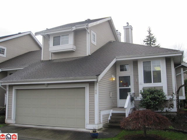 Main Photo: 40 20788 87TH AVENUE in : Walnut Grove Condo for sale (Langley)  : MLS®# F1029226