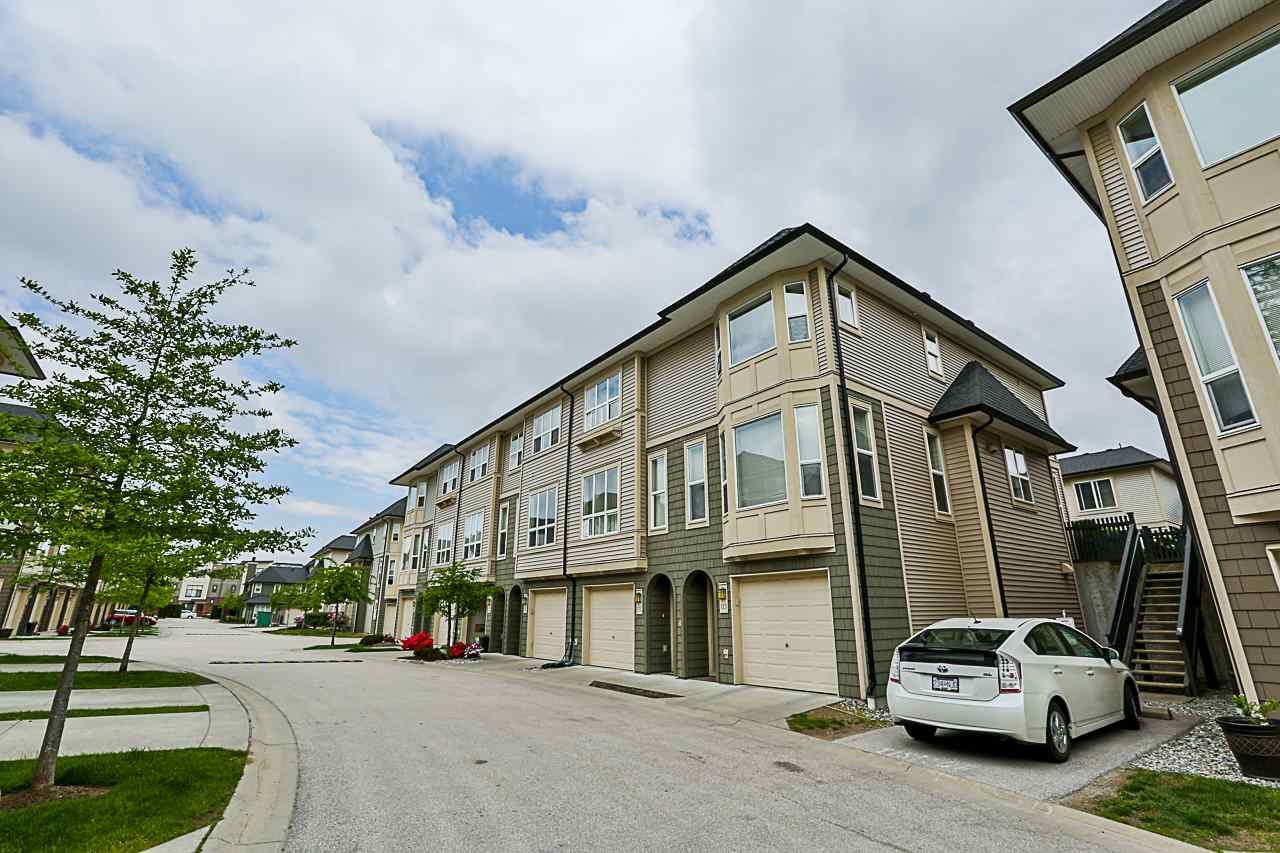 "Main Photo: 113 7938 209 Street in Langley: Willoughby Heights Townhouse for sale in ""RED MAPLE PARK"" : MLS®# R2268885"