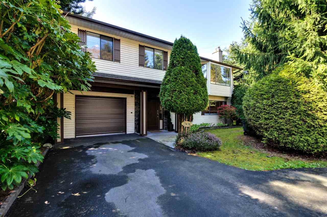 Main Photo: 15838 20 AVENUE in Surrey: King George Corridor House for sale (South Surrey White Rock)  : MLS(r) # R2044646