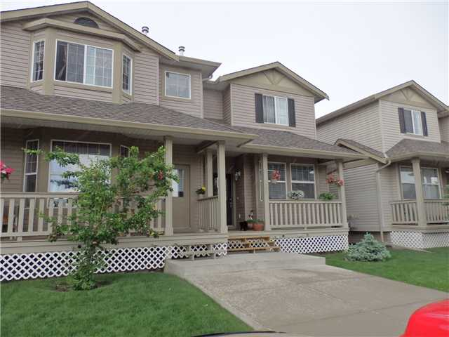 Main Photo: 405 2001 LUXSTONE Boulevard SW: Airdrie Townhouse for sale : MLS®# C3574419