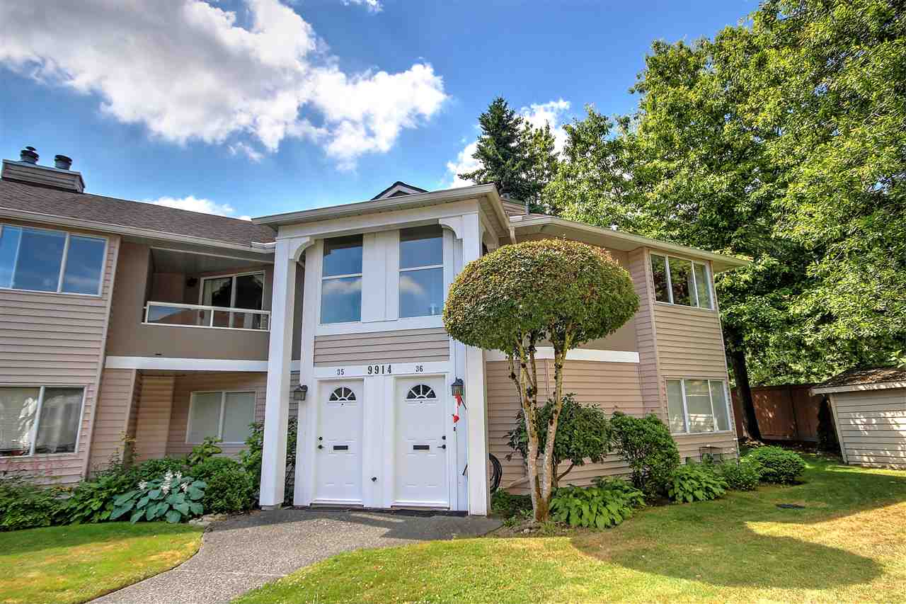 Main Photo: 35 - 9914 148 St in Surrey: Guildford Townhouse for sale : MLS®# R2176204