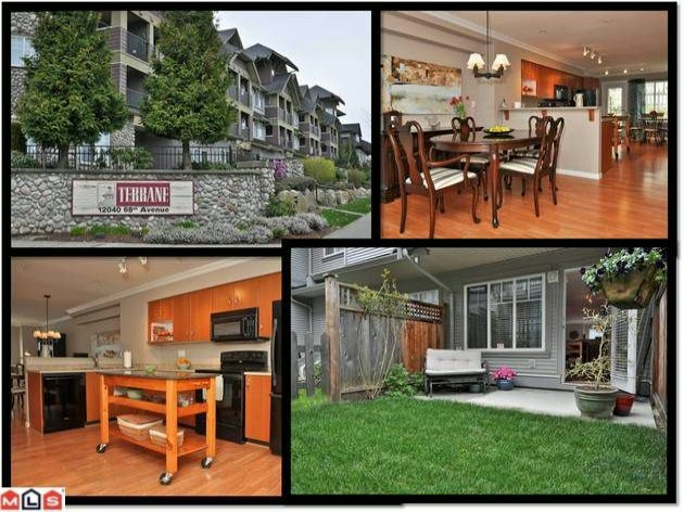 "Main Photo: 166 12040 68TH Avenue in Surrey: West Newton Townhouse for sale in ""Terrane"" : MLS® # F1208802"