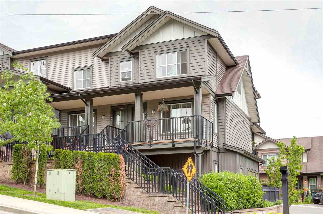 Main Photo: 32 11176 GILKER HILL ROAD in Maple Ridge: Cottonwood MR Townhouse for sale : MLS®# R2066701