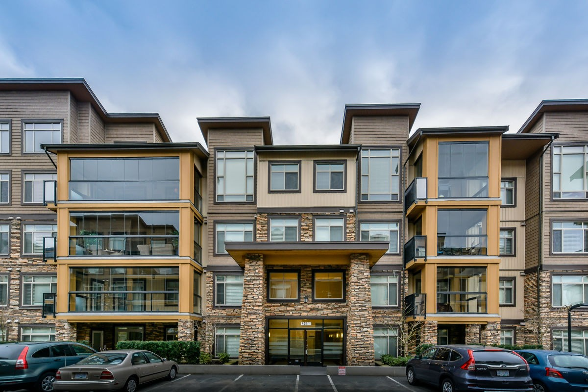 Main Photo: 416 - 12655 190A St in Pitt Meadows: Mid Meadows Condo for sale : MLS®# R2133981