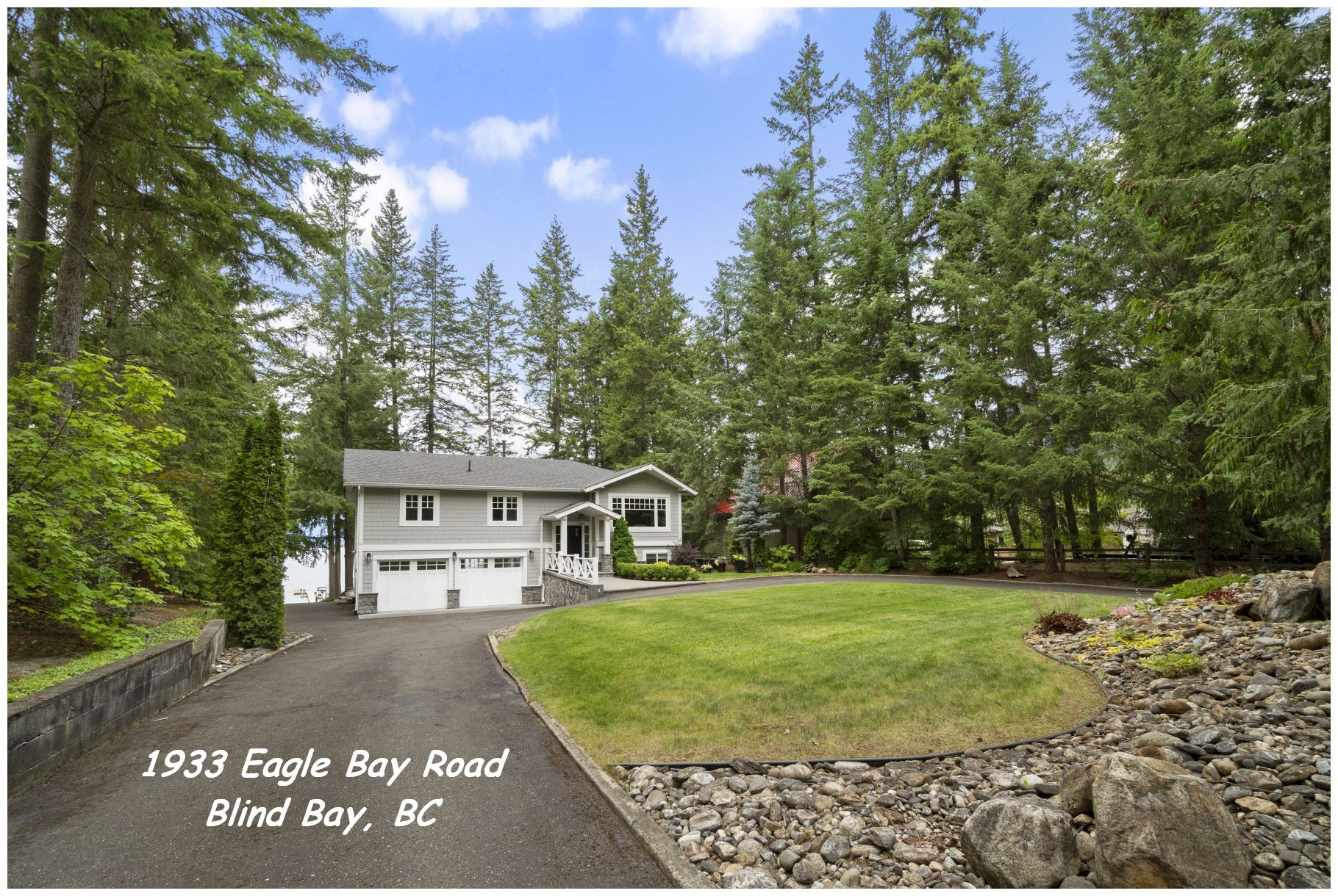 FEATURED LISTING: 1933 Eagle Bay Road Blind Bay