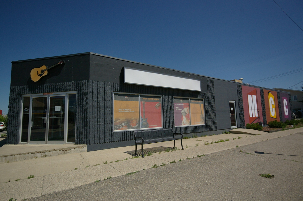 Main Photo: 239 Third Avenue in Strathmore: Business Only for lease : MLS®# C1025625
