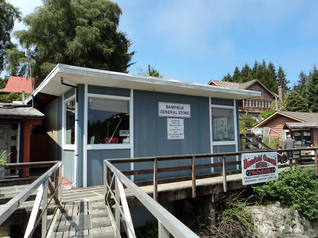 West Bamfield's only General Store