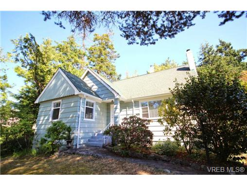 Main Photo: 3961 Sherwood Road in VICTORIA: SE Queenswood Single Family Detached for sale (Saanich East)  : MLS® # 340058