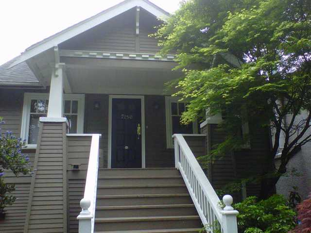 "Main Photo: 2250 W 13TH AV in Vancouver: Kitsilano House for sale in ""Kitsilano"" (Vancouver West)  : MLS® # V1009329"