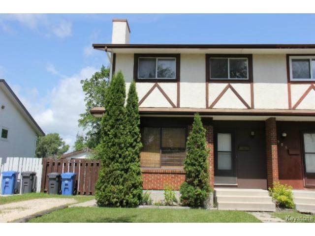 Main Photo: 983 Kimberly Avenue in WINNIPEG: East Kildonan Residential for sale (North East Winnipeg)  : MLS® # 1417155