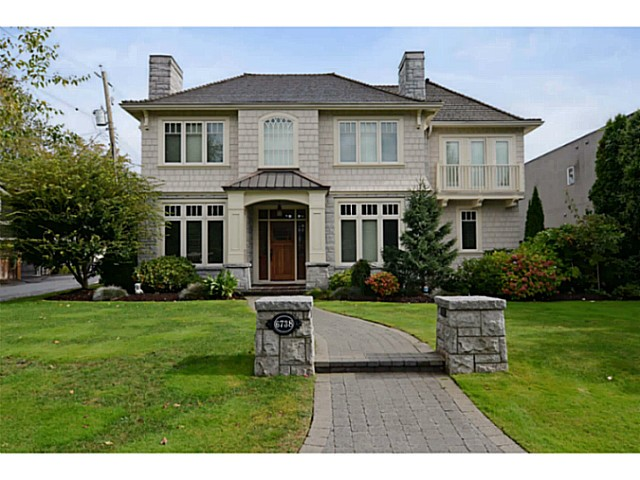 Main Photo: 6738 BEECHWOOD ST in Vancouver: S.W. Marine House for sale (Vancouver West)  : MLS®# V1029527