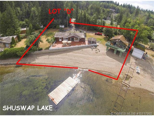 Main Photo: PL D 2639 Eagle Bay Road in Eagle Bay: Reedman Point House for sale : MLS® # 10117980