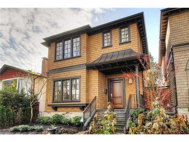 Main Photo: 4386 W 11TH AV in Vancouver: Point Grey House for sale (Vancouver West)  : MLS®# V986804