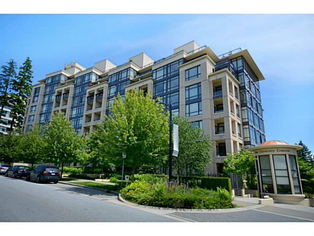 "Main Photo: 700 9330 UNIVERSITY Crescent in Burnaby: Simon Fraser Univer. Condo for sale in ""One University Crescent"" (Burnaby North)  : MLS® # V987867"