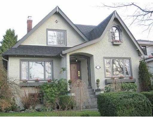 Main Photo: 4742 COLLINGWOOD Street in Vancouver: Dunbar House for sale (Vancouver West)  : MLS®# V625247