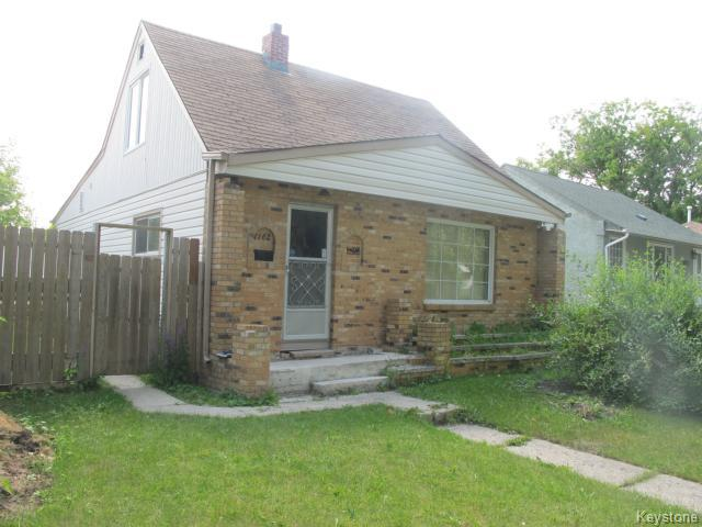 Main Photo:  in WINNIPEG: North End Residential for sale (North West Winnipeg)  : MLS® # 1418736