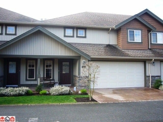 "Main Photo: # 33 6887 SHEFFIELD WY in Sardis: Sardis East Vedder Rd Townhouse for sale in ""PARKSFIELD"" : MLS® # H1203764"