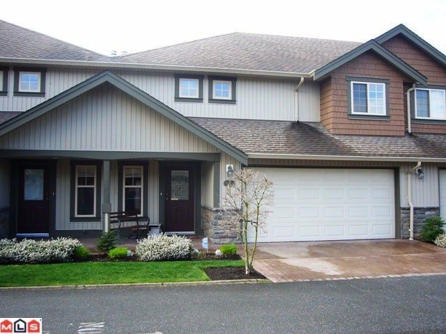 "Main Photo: # 33 6887 SHEFFIELD WY in Sardis: Sardis East Vedder Rd Townhouse for sale in ""PARKSFIELD"" : MLS®# H1203764"