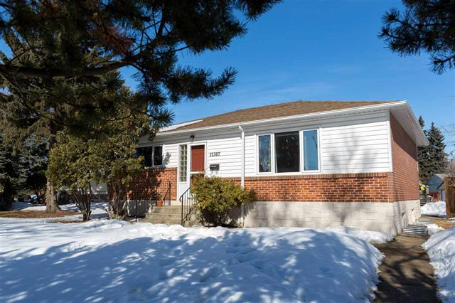 Main Photo: 12387 132 ST NW: Edmonton House for sale : MLS®# E4100982