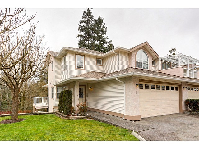 Main Photo: 1 22751 HANEY BYPASS in Maple Ridge: East Central Townhouse for sale : MLS®# R2043441