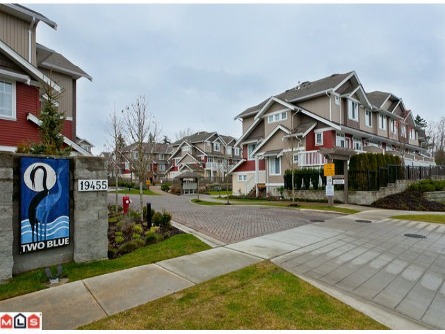 "Main Photo: 51 19455 65TH Avenue in Surrey: Clayton Townhouse for sale in ""Two Blue"" (Cloverdale)  : MLS® # F1203766"
