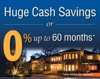 Huge Cash Savings