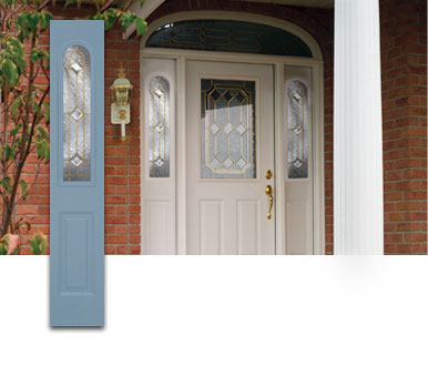 Scintillating Arched Front Door With Sidelights Ideas Exterior