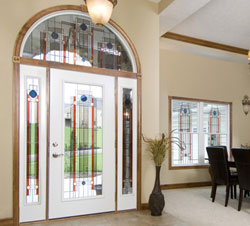 Transom Windows Add Beauty And Light Above Front Entries