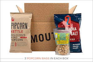 Mouth: Popcorn Every Month