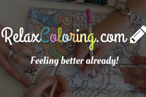 Relax Coloring Box