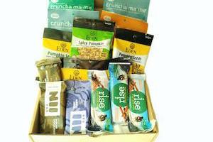 Bright Snack: Vegan Selection