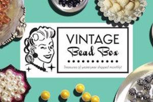 Vintage Bead Box