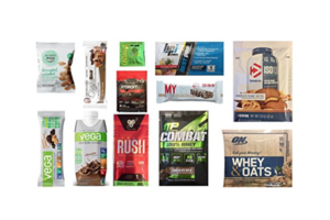 Amazon Mr. Olympia Sports Nutrition Sample Box