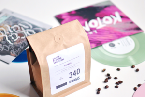 Turntable Kitchen Curated Coffee & Vinyl Pairing Box
