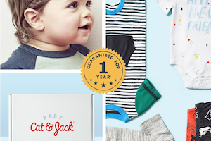 Target Cat & Jack Baby Outfit Box