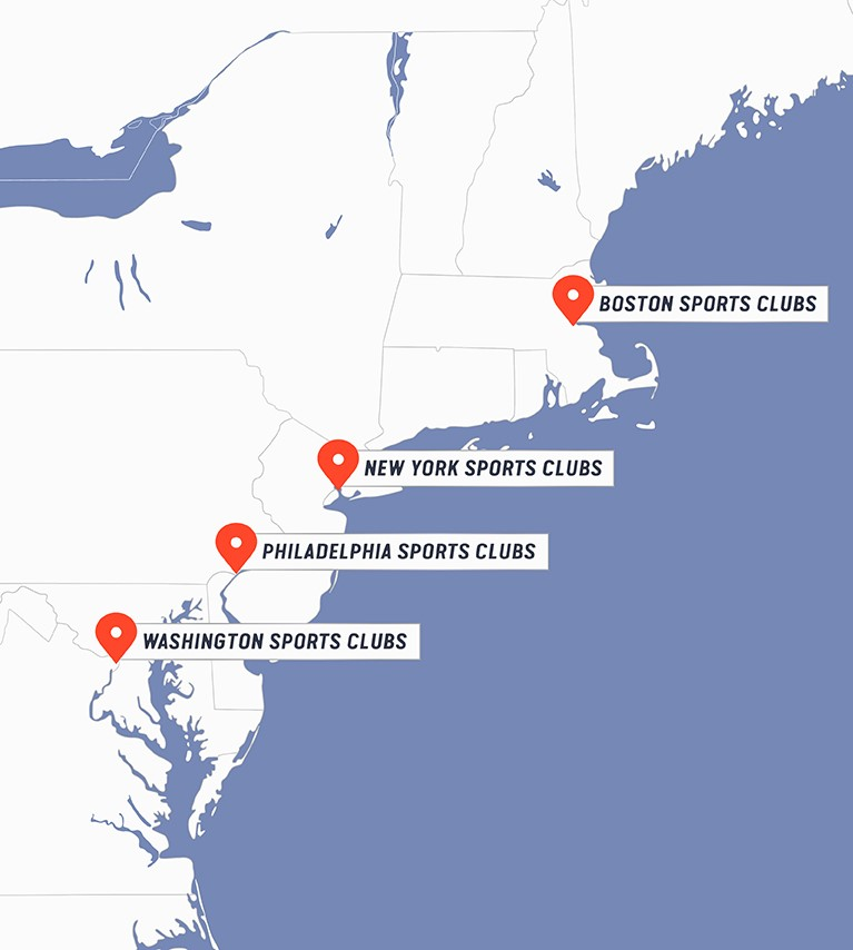 new york and boston map My Sports Clubs The City Is Your New Gym new york and boston map