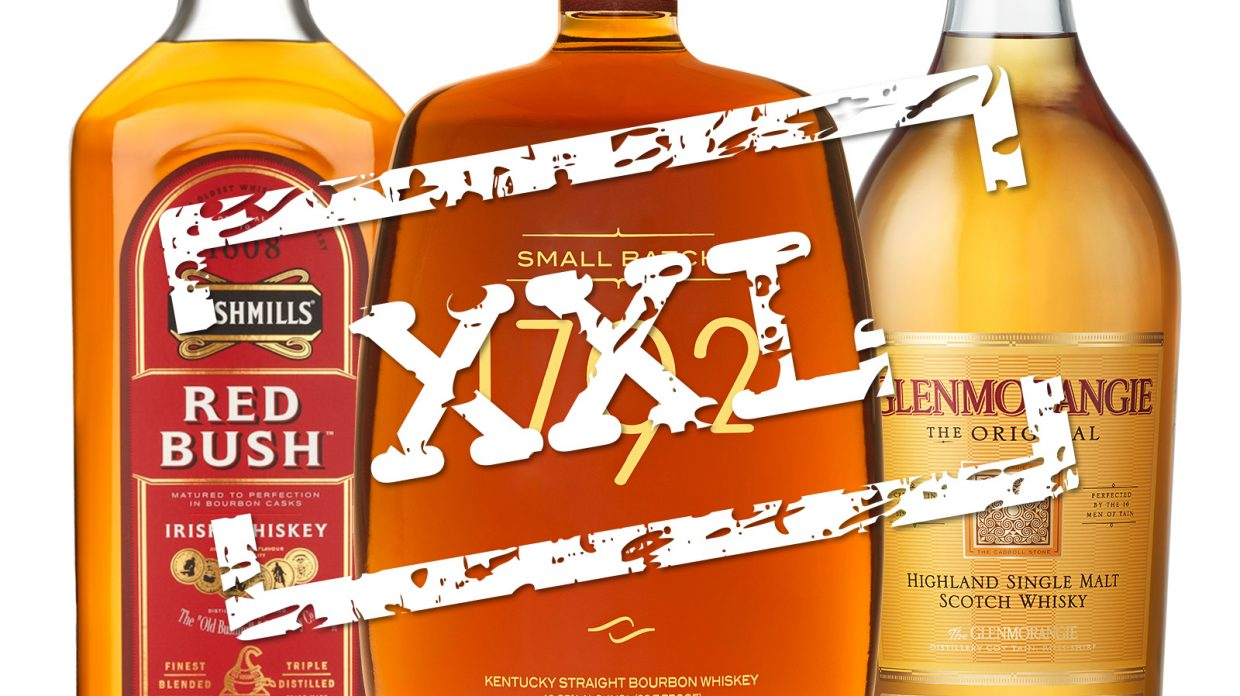 Can You Handle This The Best Whiskies In 1 75 Liter Bottles