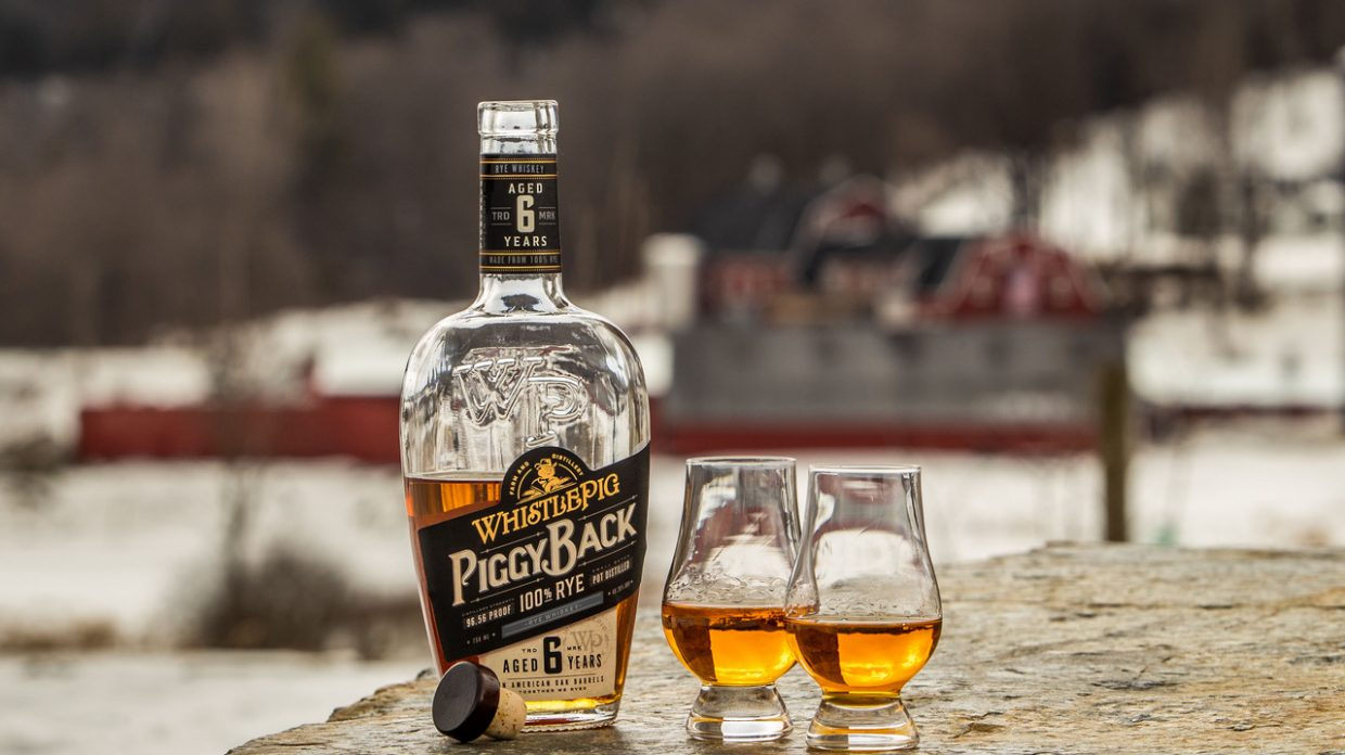 b79201bcfd77a WhistlePig Piggyback Rye comes in a bottle designed for easy pouring