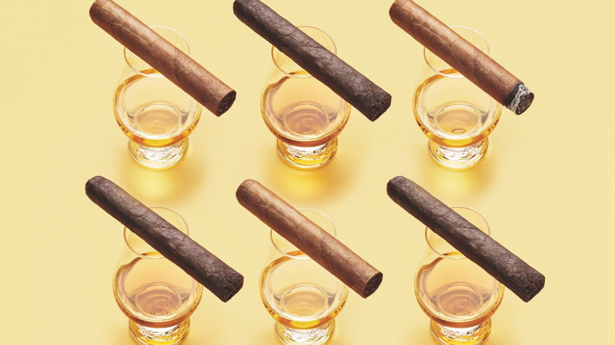 How To Pair Whisky And Rum And Brandy With Cigars Whisky