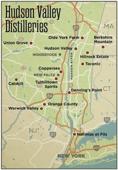 The Hudson Valley Craft Whiskey Trail - Whisky Advocate on map of indiana covered bridges, map of connecticut, map of hampton nh, map of eastern kentucky cities, mashapaug lake union ct, map downtown new london ct, map of paul st, map of pine st, map of uniontown, map of maine rivers, map of south st, map of franklin st, map of covered bridges ashtabula county ohio,