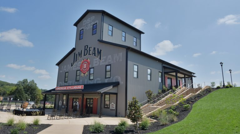 James B. Beam Distilling Co. in Kentucky