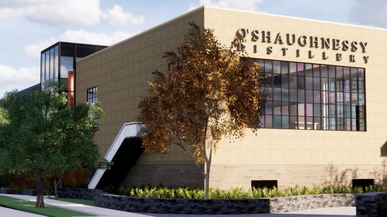 Rendering of O'Shaughnessy Distilling Co. in Minneapolis