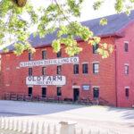 historic West Overton Distilling Co. brick building in Pennsylvania