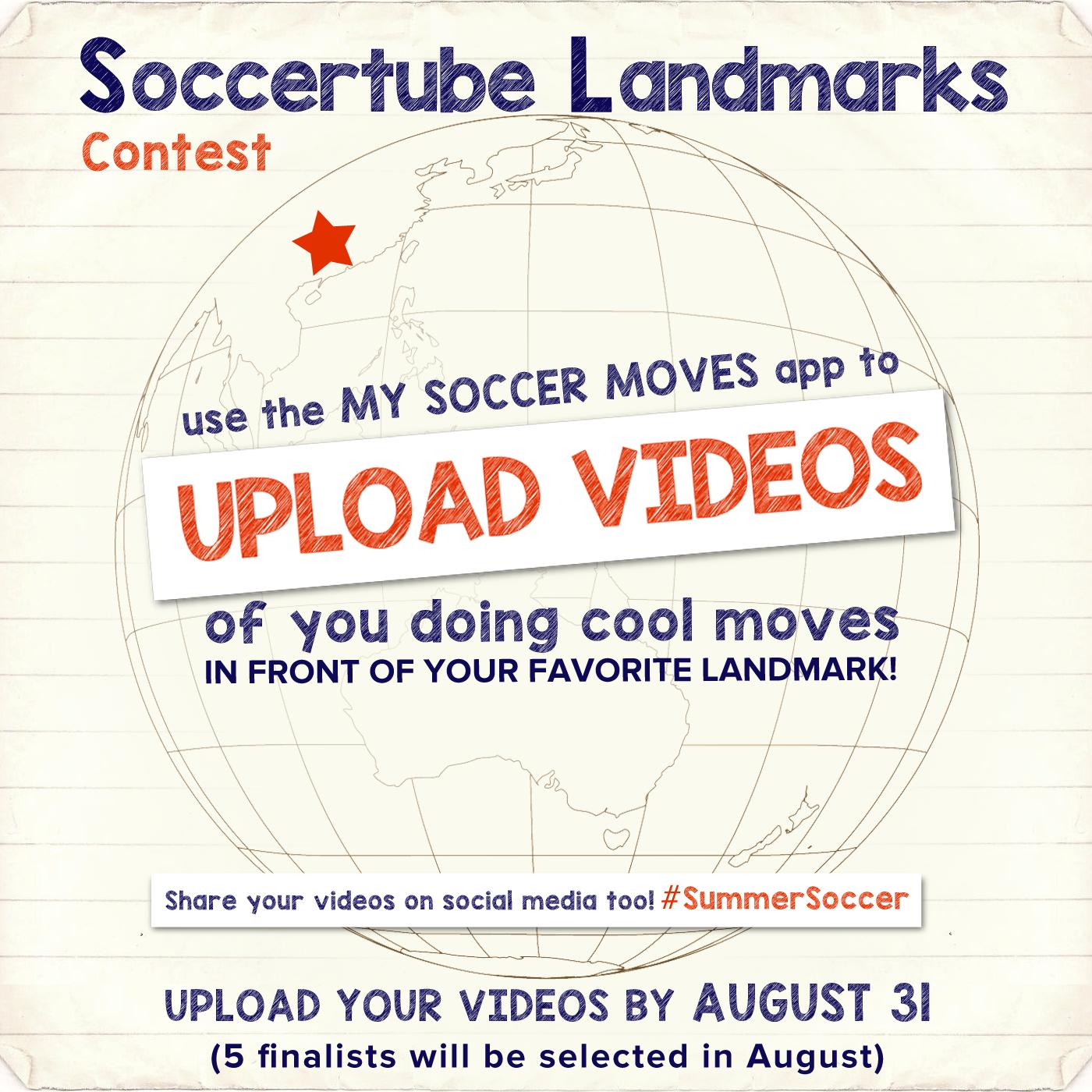 Soccertube Landmarks Contest