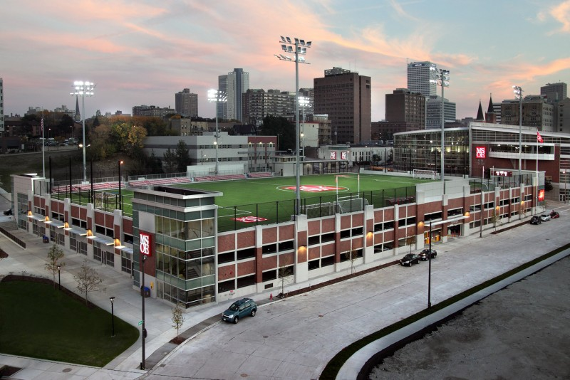 Image result for milwaukee school of engineering field on garage