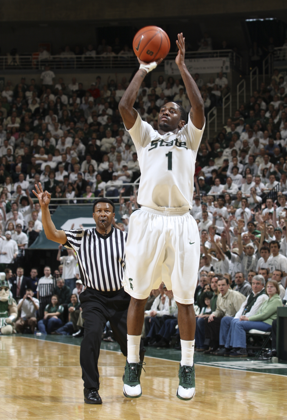 Kalin Lucas Was Named Big Ten Player Of The Year By Leagues Coaches And Media