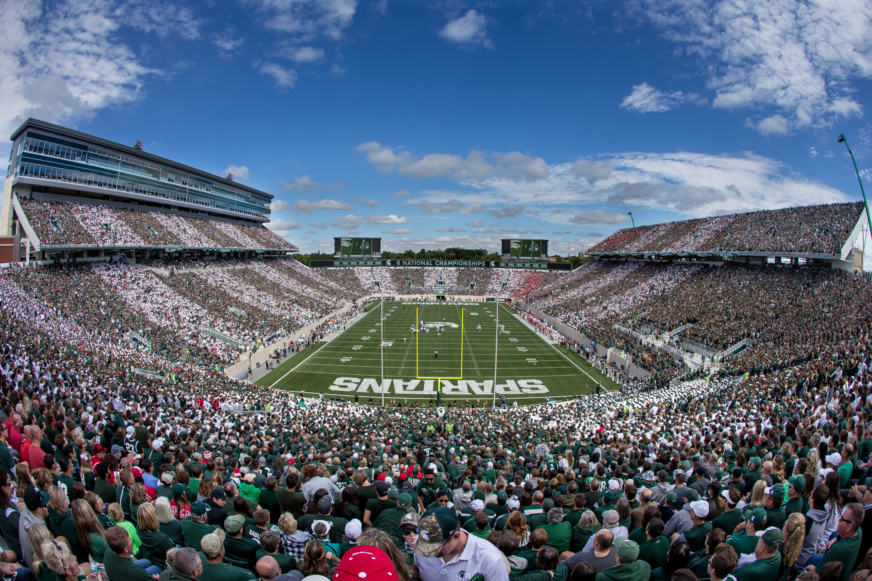 Spartans Announce Complete Nonconference Football